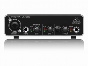 Behringer U-PHORIA UMC22 interfejs audio