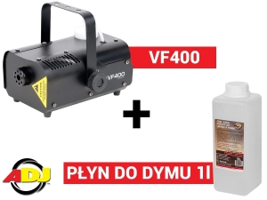 American DJ VF-400 + płyn Fog Juice 2 Medium 1 litr