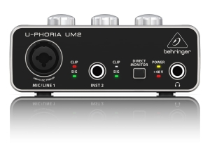 Behringer U-PHORIA UM2 interfejs audio