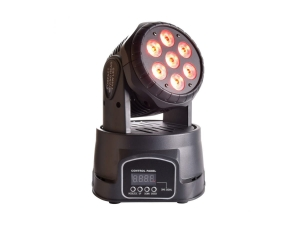 LIGHT4ME COMPACT MOVING HEAD 7x8W LED głowa ruchoma Wash