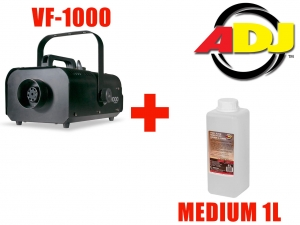 American DJ VF-1000 + płyn ADJ Medium 1L