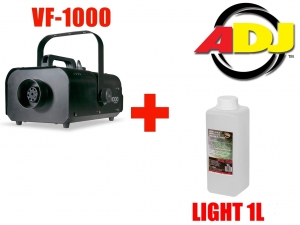 American DJ VF-1000 + płyn ADJ Light 1L
