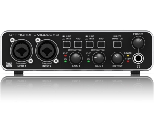 BEHRINGER U-PHORIA UMC202HD interfejs audio
