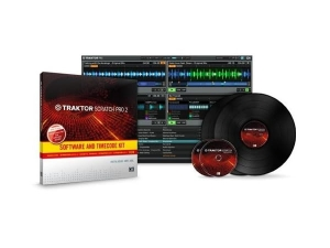 Native Instruments Traktor Scratch Pro 2 Software & Time Code