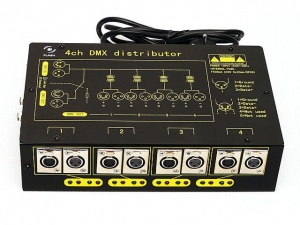 Flash 4CH DMX Distributor